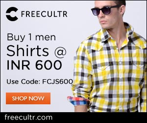 Buy Accessories worth Rs.2000 and get 40%OFF at FREECULTR