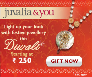 Juvalia & You brings you latest jewellery. Get 250 off on 1000 or more.